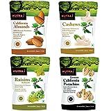 #6: Nutraj Daily Needs Dry Fruits Pack 1 Kg (Almonds 250g, Cashews 250gm, Pistachios 250g, Raisins 250g)