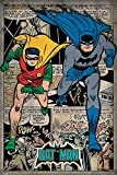 DC Universe Batman 'Comic Montage' Maxi Poster, 61 x 91.5 cm