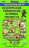 Südöstliche Fränkische Schweiz: Veldensteiner Forst (Fritsch Wanderkarten 1:40000) -