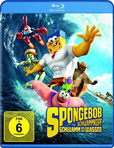 SpongeBob Schwammkopf - Schwamm aus dem Wasser [Blu-ray]