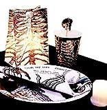 Talking Tables Skeleton Crew Guirlande pour Fête d'Halloween (3m)