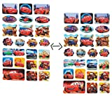 alles-meine.de GmbH 23 tlg. Set _ 3-D Effekt - Aufkleber / Sticker -  Disney Auto - Cars Lightnin..