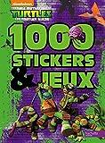 Tortues Ninja / 1000 stickers et jeux