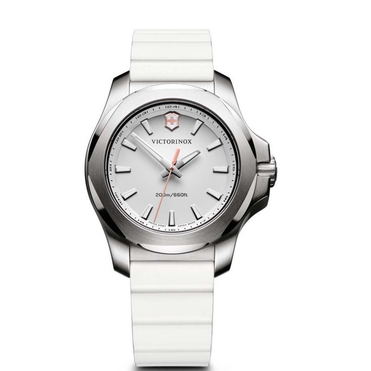 Victorinox I.N.O.X. V Reloj Digital para Mujer de Cuarzo con Correa en