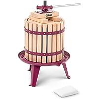 Royal Catering Pressoir De Table Hydraulique Extracteur De Jus Mécanique À Vis Bois Presse À Fruit Pomme Jus Vin Raisin…