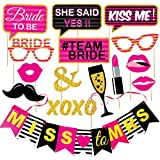 Wobbox Bachelorette Party Photo Booth Props and Party Banner