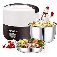 Janolia Boîte à Repas Électrique pour la Rentrée, Mise à Niveau Version, Lunch Box Chauffante, Réchauffeur de Nourriture…