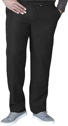 D555 Mens Duke Max King Size Adjustable Waist Trousers