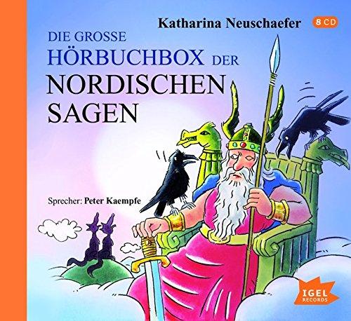 Preisvergleich Produktbild Die große Hörbuchbox der Nordischen Sagen (Nordische Sagen)