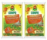 COMPO Herbst Rasen-Langzeitdünger 20 kg Vorteilspack (2x10kg) für 1000 m²