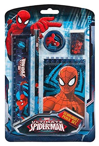 Undercover SPJU0210 - Marvel Spider-Man Schreibset, 5-teilig