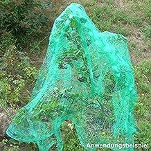 Größe 5 x 4 m Windhager Vogelschutznetz Vogelabwehrnetz Baumnetz 13 x 13 mm