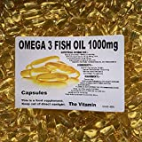 The Vitamin Omega 3 Fish Oil 1000mg (360 Capsules - Bagged)