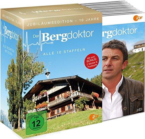 10 Jahre Der Bergdoktor – Jubiläumsedition [30 DVDs im Schuber] [Alemania] 61vCrnVtJbL
