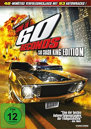 Gone in 60 Seconds - Nur noch 60 Sekunden [2 DVDs] Preisvergleich