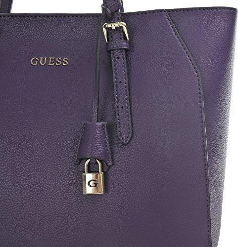 Guess Sissi Medium Tote, Sacs à Main Femmes, Taille Unique Violet