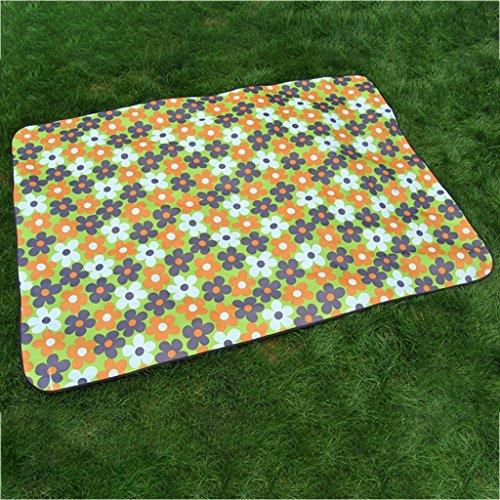 wysm Tappetino di picnic 200 * 150cm piuma d'umidità più spessa piattaforma esterna picnic outdoor picnic outdoor portatile portatile esterno ( Colore : SC03 ) SC05