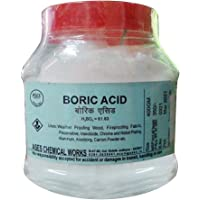 Ases Boric Acid Powder For Carrom Board, Removing Pests Cockroaches, Food Grains (400 gm,White) (H3BO3)