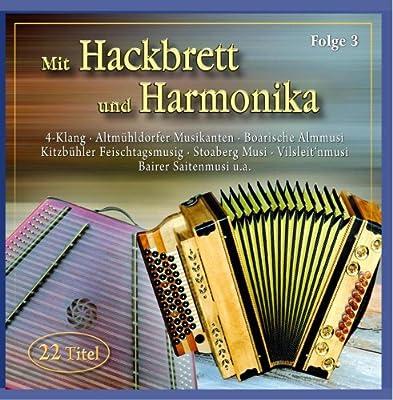 Mit Hackbrett und Harmonika
