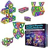 Desire Deluxe Costruzioni per Bambini Set Tessere magnetiche - Giochi Bambina 3 4 5 6 7 Anni Educativo Giocattolo Presente per Bambini