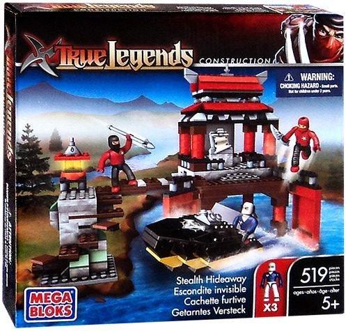 True Legends Mega Bloks Set Stealth Hideaway by True Heroes