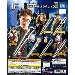 Set 6 Mini VARITAS MAGICA Collecion de HARRY POTTER Wand Collection 2 - 100% OFICIAL Warner Bros TOMY