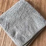 Telo Mare Asciugamano da Bagno in Puro Cotone per Adulti, Morbido Bagno in Cotone, Super Assorbente, Asciugamano da Bagno, Erba Bassa con Bordi Verdi, 85X150Cm