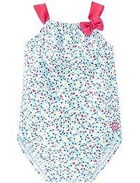 Schiesser Baby-Mädchen Einteiler Aqua Badeanzug