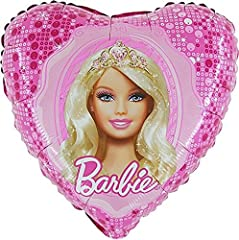 Idea Regalo - Palloncino Cuore Barbie Princess