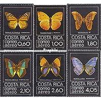 Prophila Costa Rica 1042-1047 (Completa.edición.) 1979 Mariposas (Sellos
