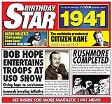 1941 Geburtstags-Geschenke - 1941 Chart Hits CD und 1941 Geburtstagskarte
