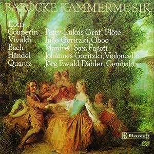 Sonates Pour Flute.Hautbois