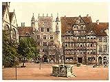 Photo Tempelherrenhaus Hildesheim Hanover A4 10x8 Poster