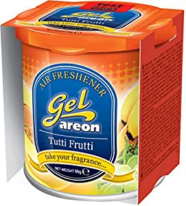 Areon Tutti Frutti Gel Air Freshener for Car (80 g)