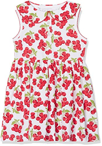 Rachel Riley Cherry Jersey Dress, Vestito Bambina,