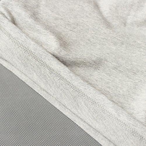 Musclealive Herren Fitnessstudio Bodybuilding Trainieren Kurze Hose Baumwolle Men Shorts Style C Grey, 5 inseam Thick Fabric With Pockets