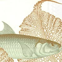 Caskata Studio SKINNY FISH gold luxury traditional