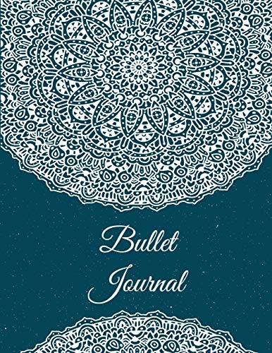 Bullet Journal: Pretty Mandala, 8.5