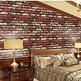 Wandaufkleber Yesmile 45x100CM Wandverkleidung in Steinoptik aus Styropor für Küche Terrasse Schlafzimmer Wohnzimmer Wandpaneele für Mediterrane Wandgestaltung