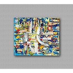 Europäisch,moderne und einfache dekorative malerei,veranda dekorative malerei, bild,wohnzimmer-aisle-dekoration malerei,pure hand-painted - GELATO VANIGLIA 50x60cm 19,69x23,62in