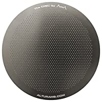 The DISC: Premium Filter for AeroPress Coffee Makers by ALTURA + FREE eBOOK with Recipes, Tips, and More - Stainless Steel, Washable & Reusable. Lifetime 100% Guarantee