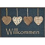 Wash + Dry 052173 Fußmatte Cottage Hearts 50 x 75 cm