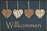 Wash&Dry 052173 Fußmatte Cottage Hearts 50 x 75 cm