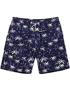 OME&QIUMEI Hombres Hot Spring Seco Velocidad Shorts Shorts Shorts Playa Natación Pantalones Anchos Pantalones...