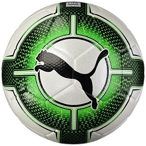 Balón de fútbol Puma Uni Evopower 3.3 (Calidad de la FIFA), Verde, Blanco y Negro.