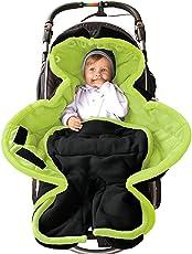 ByBoom® - Ganzjahres Fußsack Cocoon für Kinderwagen, Buggy auch Babyschale z.B. Maxi-Cosi; MADE IN EU
