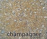 Fuchs seit 1895 1000 Tropfen Perlen Dekogranulat 5-6 mm 100 g Streudeko Made IN Germany, Farbe:Champagner
