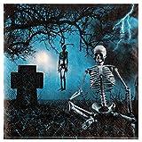 Feste Feiern Halloween Deko I 61 Teile Becher Teller Servietten Gläser Tischdekoration Happy Horror Grusel Party