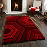 Brand New Hand loom Modern Stone 5D shaggy rugs and carpets for living room, hall(4X6)