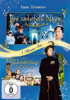 Eine zauberhafte Nanny / Eine zauberhafte Nanny - Knall auf Fall in ein neues Abenteuer [2 DVDs]